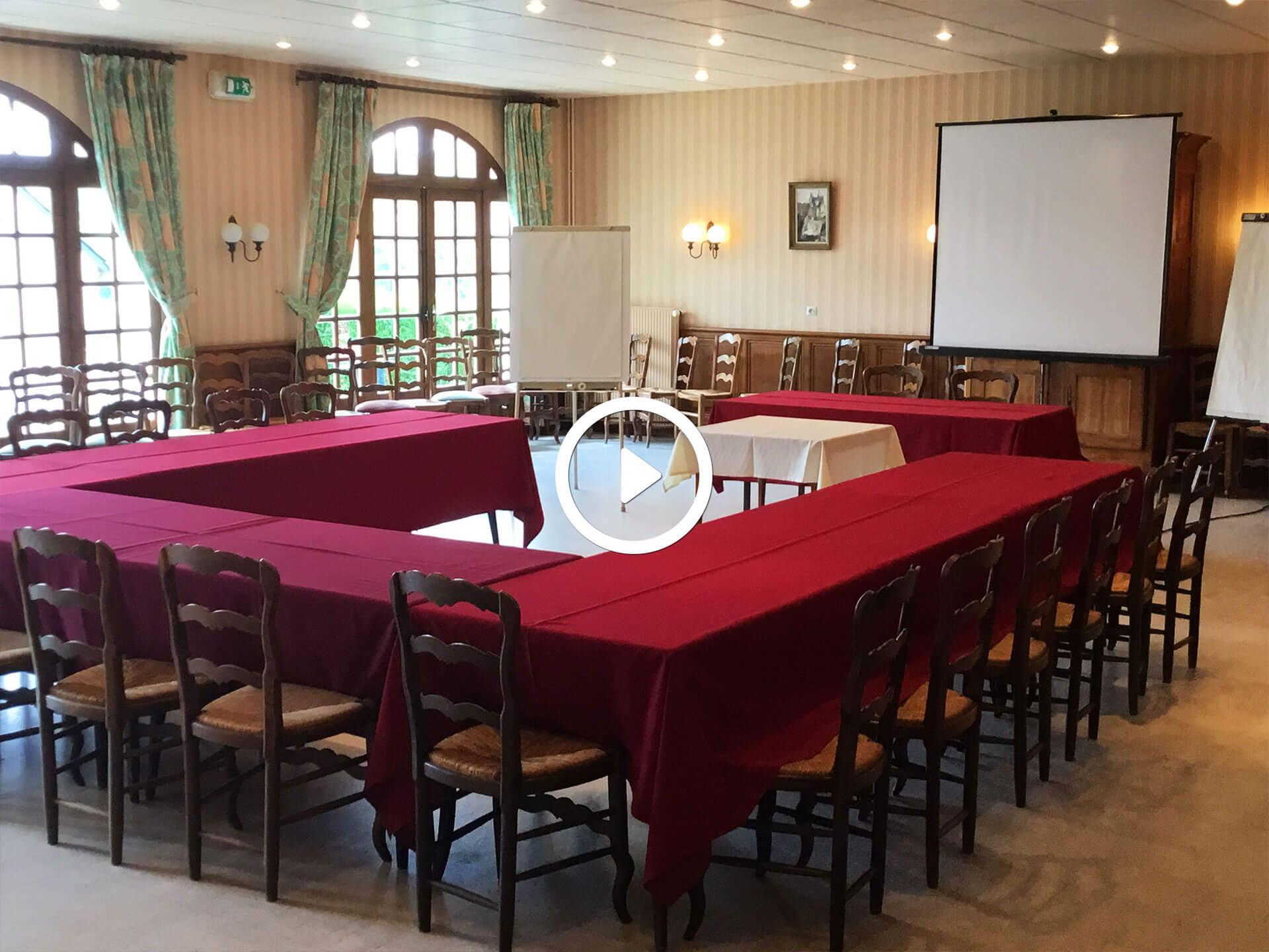 Salle seminaire manoir chambord